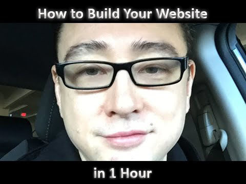 How to Build Your Website in 1 Hour