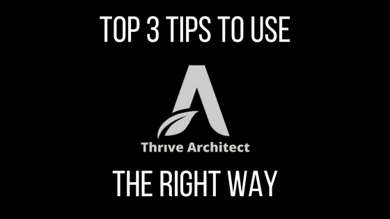 thrive architect