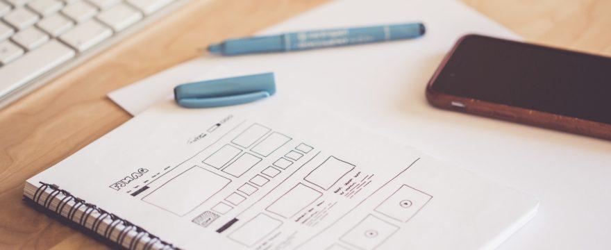 UX Sketching Technique for Web Design